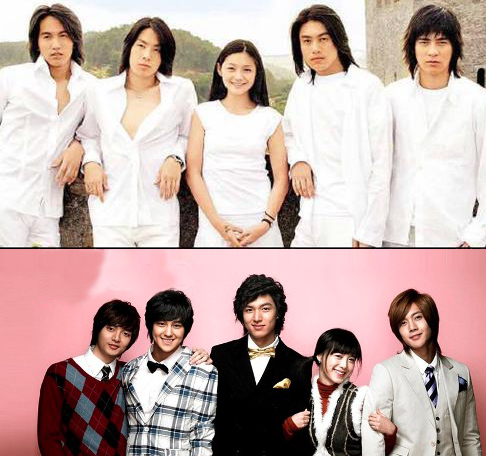 Meteor Garden vs. Korean Boys Over Flowers